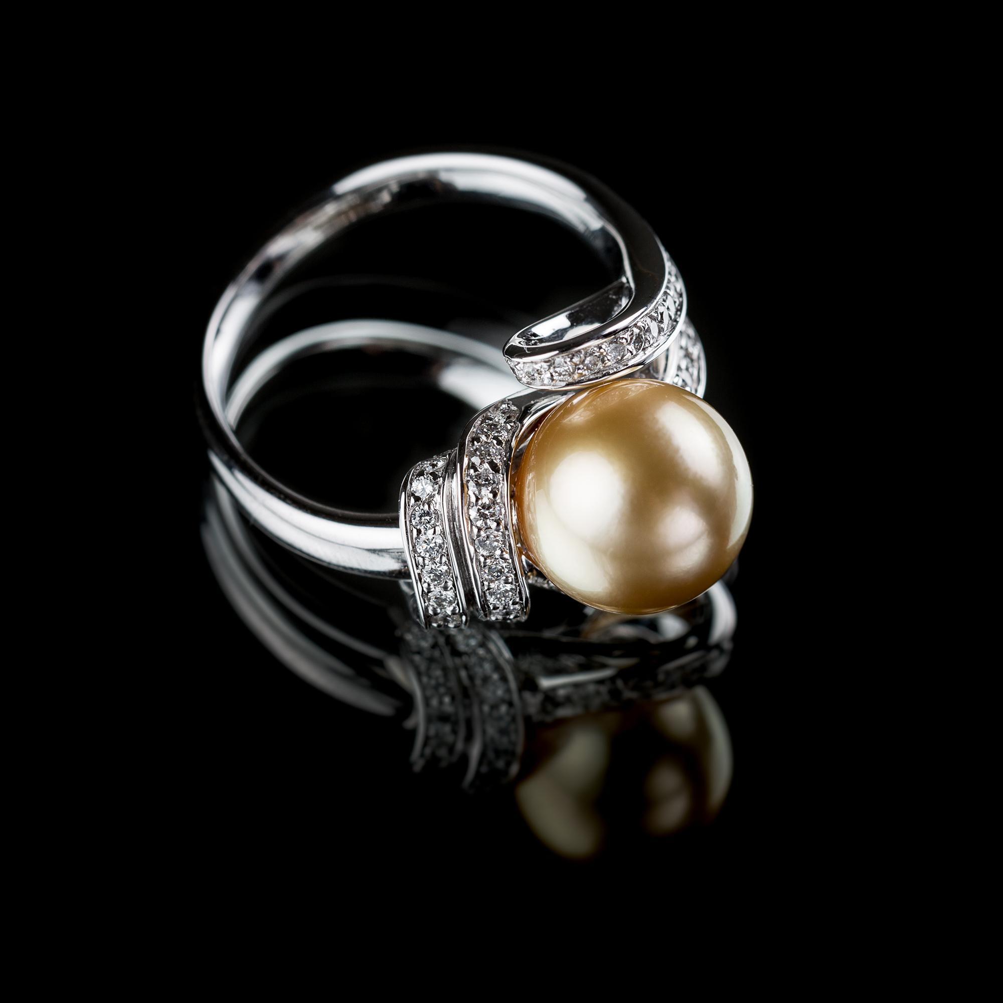 mariusse bonnet bague perles des mers du sud